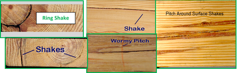 Shakes Checks And Splits In Dimension Lumber Spib Blog