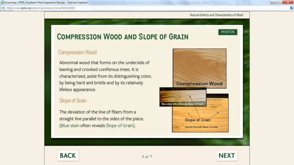 Compression Wood