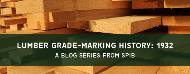 SPIB Blog - 1932